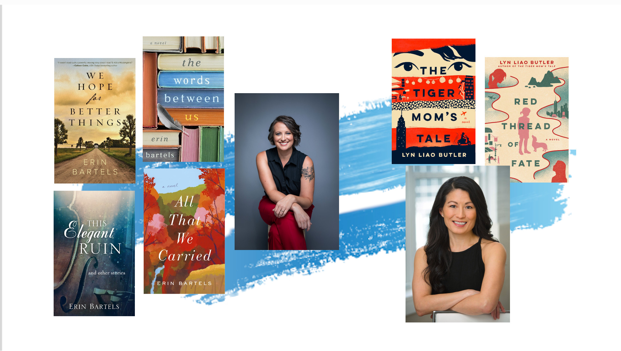 Books by Erin Bartels and Lynn Liao Butler